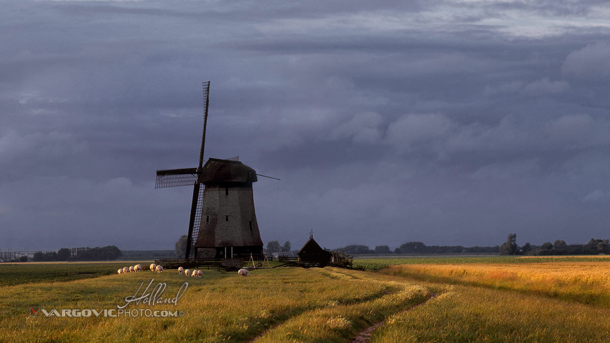 Holland North Windmill Dutch The Netherlands By Vargovic Photo